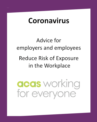Coronavirus Advice for Employers and Employees Reduce the Risk